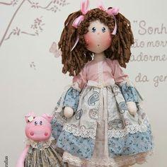 Doll Patterns, Doll Toys, Harajuku, Diy Crafts, Homemade Dolls, Doll Outfits, Fabric Dolls, Handmade Rag Dolls, Doll Crafts