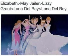 Aww cute ♡ Evolution of Lana Del Rey #LDR lol