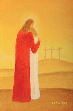 Ladislav Záborský: Kristus sa lúči so svojou Matkou