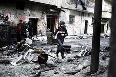 Francesca Borri en Syrie