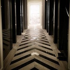 Interior Design Art Deco Bathroom :: House of Valentina Preventing Water Damage in the Laundry Room Foyer Flooring, Kitchen Flooring, Farmhouse Flooring, Linoleum Flooring, Parquet Flooring, Bedroom Flooring, Wooden Flooring, Marble Floor, Tile Floor