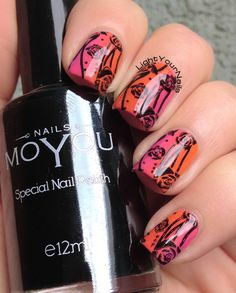 Faby Music gradient + BP-L015 stamping