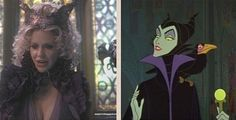 Once upon a time vs Disney / Maleficent