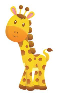 Baby Shower Giraffe Cute Art Painting Crochet