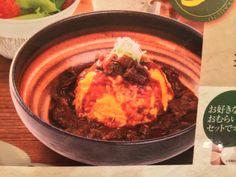 【オムライスレストランにて】 矢竹正成が注文したオムライスのメニューに載っていた写真。 実物よりもソースの量も多いしトッピングも違う!