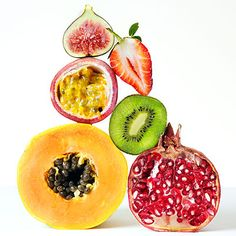 Superfruits you'll want to add into your diet as often as possible.  Great article and recipes on this topic from Health.com.  http://www.health.com/health/gallery/0,,20606331,00.html#