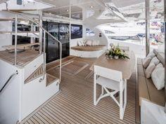 CLOUDS | Luxury Catamaran | Power boat | Power catamaran | Sunreef Yachts Charter