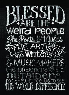 Artist and weirdos