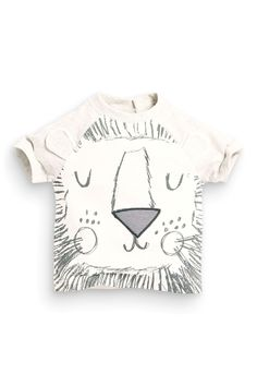 Buy Lion Face T-Shirt (0-18mths) from the Next UK online shop