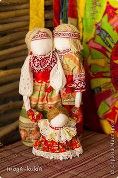 Куклы Оберег Валентинов день День матери День семьи Свадьба Шитьё Славянский оберег Крепкая семья