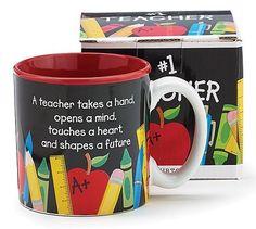 #1 Teacher Ceramic Mug