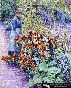 Garden in Giverny  Louis Ritman