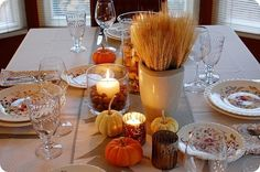 Thanksgiving tablescape thanksgiving