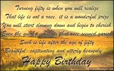 50 Year Birthday Quotes | ... is stopping you from feeling naughty and nifty. Happy birthday