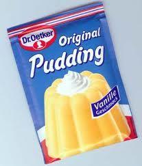 Dr. Oetker Vanillepudding - gehört zu den Kindheitserinnerungen natürlich total dazu! ... hmmm