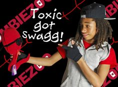Toxic got swagg!