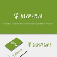 National Clean Energy Summit �20National Clean Energy Summit Logo Design