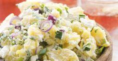 New Potato Salad Dill Potatoes, Salad Dishes, Just Bake, Hungarian Recipes, Cooking Recipes, Healthy Recipes, Barbecue Recipes, Vegetable Sides, Salad Recipes