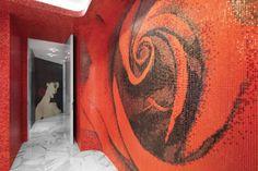 #Kingdom of #Beauty - I #mosaici #Trend protagonisti del nuovo salone Aldo #Coppola a Milano. #Arte e #bellezza si incontrano nel centro città. - Trend #mosaic tiles have a starring role in the new Aldo Coppola salon in Milan. #Art and #beauty come together right in the city's centre.