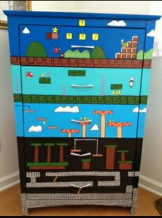 Super Mario furniture dresser chester