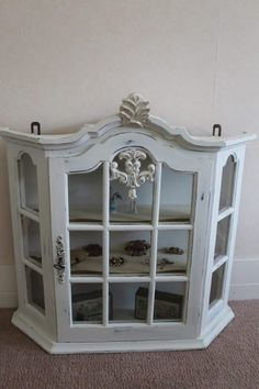 Annie Sloan, Painted Furniture, Furniture Ideas, China Cabinet, Chalk Paint, Shabby, Storage, House, Painting