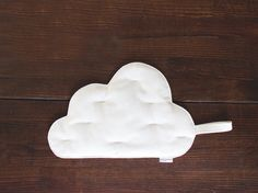 Pot holder Cloud offwhite Cotton canvas Felt by BeanieonHelinaSHOP, €18.00