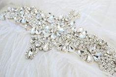 Pretty bridal belts