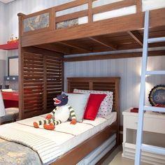 quarto cama no alto: