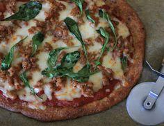Sausage Arugula Pizza