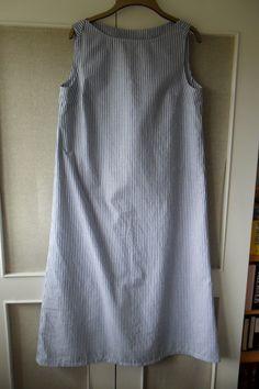 Boatneck jumper dress from Simple Modern Sewing (made longer)