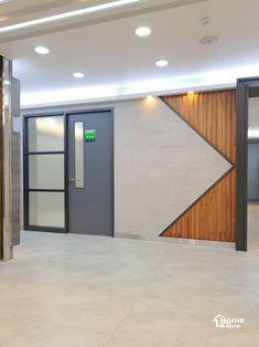 철제 파티션 가벽 프레임이 설치 시공된 대전 세종시 병원 인테리어안녕하세요 홈데코 인테리어입니다 오늘...