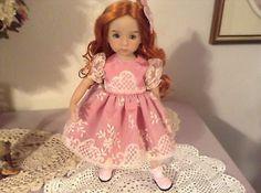 "Dianna Effner Little Darling 14"" Doll 3 Piece Ensemble Dress Slip Bow   eBay. Ends 6/26/14."