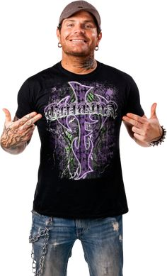 Jeff Hardy ( i have that shirt )