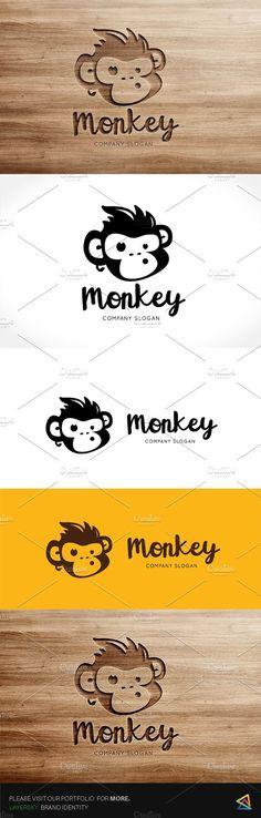 Monkey Logo. $29.00
