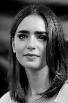 Stories in faces -- Lily Collins