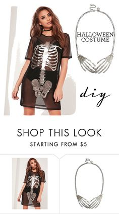 """""""Simply the best"""" by andra-andu on Polyvore featuring Missguided, halloweencostume and DIYHalloween"""