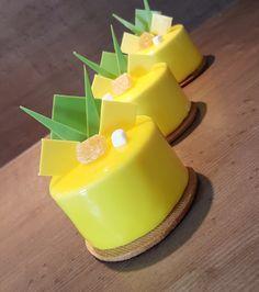 Petits gâteaux ananas & citron vert. (Blog Zôdio)