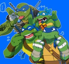 TMNT Challenge Day 29: Most overrated character...I dunno...but I gotta pick someone, so I'll say Leo.