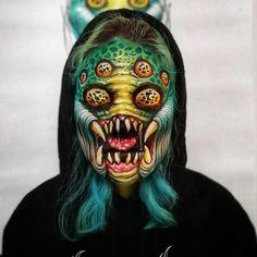 Halloween Men, Halloween Costumes, Halloween Face Makeup, Makeup Inspo, Makeup Inspiration, Makeup Ideas, Eyes Without A Face, Character Makeup, Macabre Art
