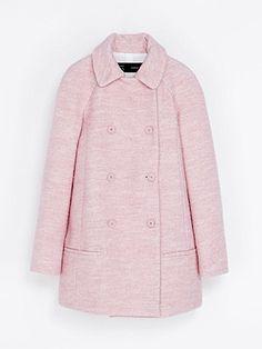 AW13 fashion trend :: Pink coats - ZARA