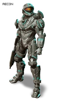 HALO 4 Armor. Love the look Recon has in Halo 4