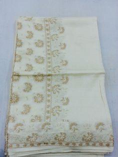 Tassar silk raw work
