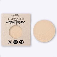 Recarga magnética Polvos Compactos Neutro PUROBIO. Textura aterciopelada. Acabado perfecto. Libre de níquel. Apto para veganos. Recarga magnética adaptable a envase principal. #CosmeticaNatural #MaquillajeNatural #Purobio #CompactPowder #Belleza #Cosmetics