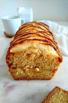 Cake aux pommes sans gluten, vegan et allégé en matière grasse et en sucre. Sain et gourmand. Sin Gluten, Sans Gluten Vegan, Gluten Free, Vegan Dessert Recipes, Snack Recipes, Dessert Healthy, Healthy Recipes, Vegetarian Recipes, Cake Sans Oeuf