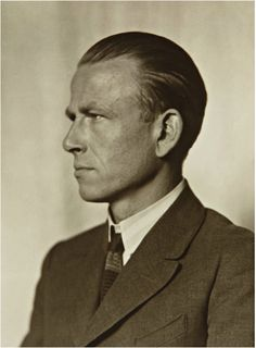 Paimter Otto Dix, by August Sander