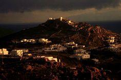 winter sunset# Mykonos By Monique Motta Winter Sunset, Mykonos Greece, Paris Skyline, Mood, Travel, Viajes, Destinations, Traveling, Trips