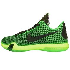 NIKE Kobe X 10 (GS) Youth Boys Girls Basketball Shoes 726067-333 POISON GREEN - http://shoes.goshopinterest.com/girls/athletic-girls/basketball-athletic-girls/nike-kobe-x-10-gs-youth-boys-girls-basketball-shoes-726067-333-poison-green/