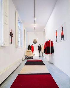 Design - Tapetes e Sensações:  Tapete da Nanimarquina, na loja Sybilla Pop-up…