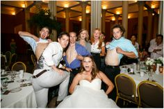 Table Races- bride & groom get 1 song to snap a pic with every table