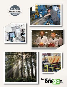 Annual report, fiscal year ... by the Oregon Business Development Department